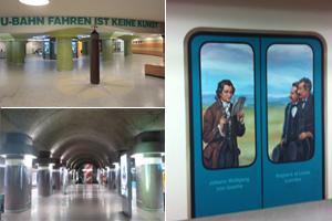 Frankfurts Untergrund  - Eine (Zeit-)Reise mit der Frankfurter U-Bahn