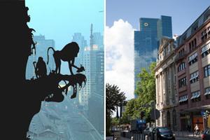 Frankfurts Banken & Hochhäuser Inside - Der Gallileo-Art-Tower der Commerzbank