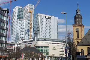 Die Frankfurter Innenstadt - Eine Stadt im Wandel