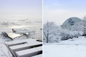 Winter-Tour³ - Flughafen-Rundfahrt, Schiffstour & Weihnachtsmarkt in der Frankfurter Adventszeit