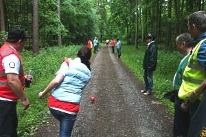 Irish Road Bowling - Auf die andere Art durch den Frankfurter Stadtwald