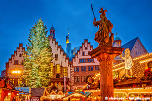 Weihnachtliches Frankfurt - Geschichten zwischen Advent, Chanukka & den drei Königen