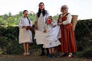 Kinder im Mittelalter - Die Kammerzophe Xelephenia & ihre Geschichten auf der Burg Lindenfels