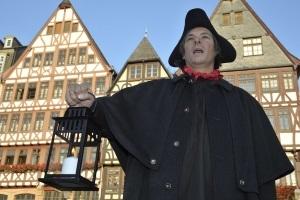 Kein Licht nach Zehn! - Eine Kostümführung mit Nachtwächter durch das dunkle Frankfurt