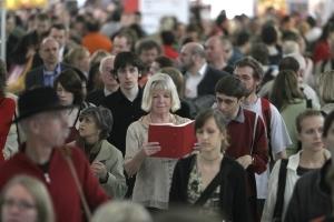 Hinter den Kulissen der Frankfurter Buchmesse