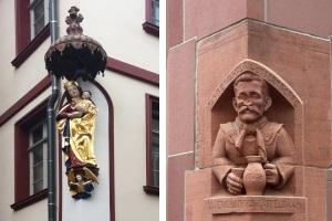 Sprechende Steine - Statuen, Reliefs & Wappen in der neuen Altstadt