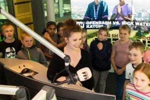 FFH-Erlebnistouren - Die HIT RADIO FFH-Kinder-Funkhaustour mit Blick hinter die Kulissen von Hessens meistgehörtem Radiosender