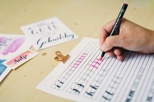 Handlettering - Die moderne Kunst des schönen Schreibens