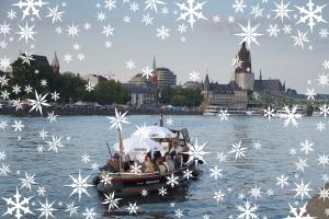 Weihnachts-Spezial: Weihnachtliches Frankfurt - Bootstour mit der Barkasse