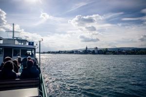 Vom Rhein zum Wein - Schwimmende Weinprobe mit dem Charterliner van de Lücht