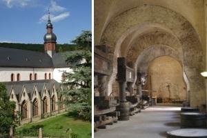 Faszinierender Rheingau - Tages-Bustour mit Führung durch das Kloster Eberbach & St. Hildegard sowie Vesper & Weinprobe