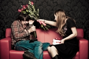 Blumen gehören auf Gräber - Der total sarkastische Anti-Valentinstag