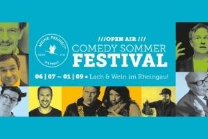 Comedy Sommer Festival - Lach & Wein im Rheingau!
