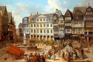 Von Kaufleuten, Waagmeistern & Geldwechslern - Die Messe Frankfurt im Mittelalter