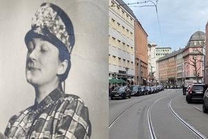 Otti + Hanna, Lilly, Lotte + Grete - Historische Frauen in der Braubachstraße