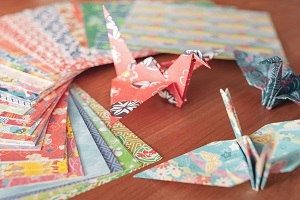 Online Origamiworkshop - Falten Sie Ihre eigene Origamifigur aus Papier