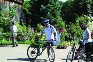 Römer, Rosen & Ambiente - Die kulinarische Radtour durch die Wetterau