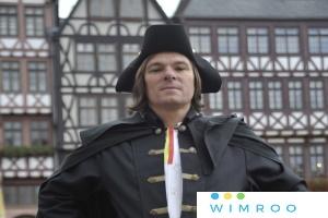 Interaktive LIVE-FÜHRUNG: Blutiges Frankfurt - Die virtuelle Online-Kostümführung mit dem Scharfrichter