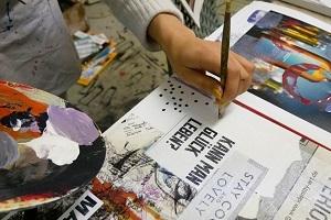 Interaktiver LIVE-COLLAGENKURS Online - In 3 Schritten zum persönlichen Kunstwerk