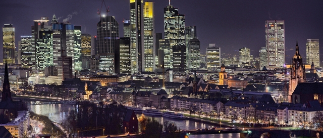 Frankfurter Skyline@Night