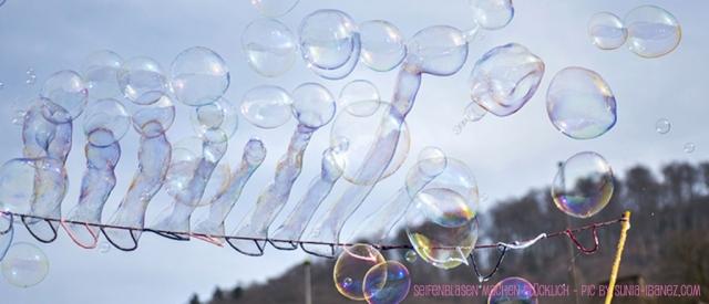 Seifenblasen selber machen!